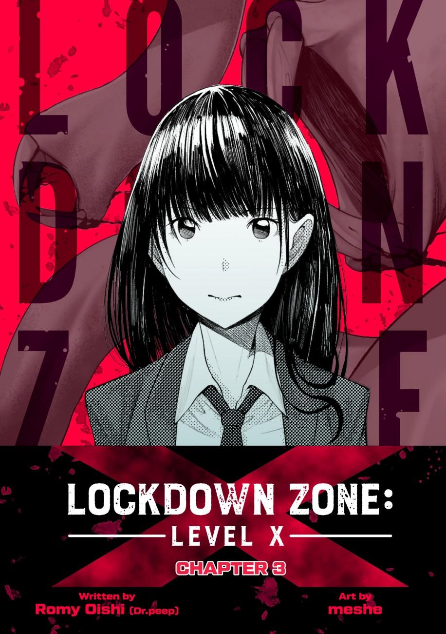 Lockdown Zone: Level X, Chapter 3